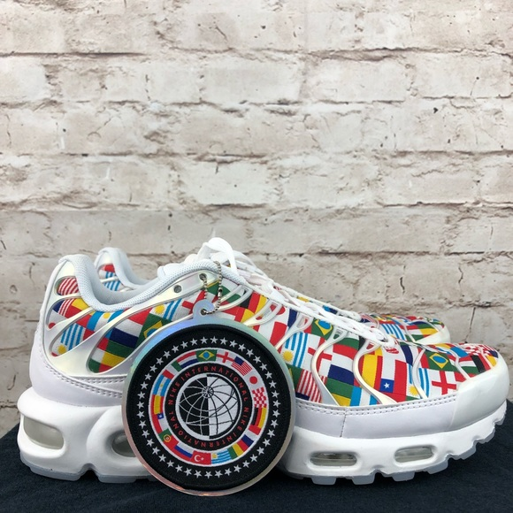 meet 81056 65f95 Nike Air Max Plus TN World Cup International Flag